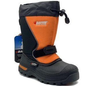 Baffin Boy's Mustang Snow Boots, Orange,